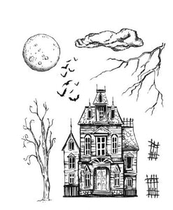 Tim Holtz Stampers anonymous - Sketch manor