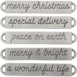Tim Holtz idea-ology - Christmas word bands