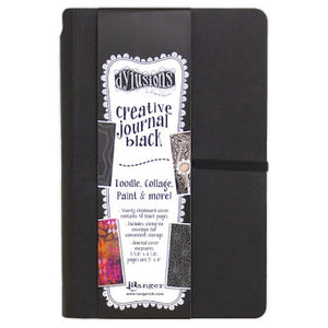 "Dylusions Creative Journal - Small (5"" x 8"") black"