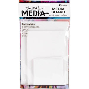 Dina Wakley media board - 6 pack