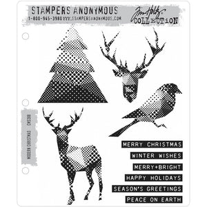 Tim Holtz Stampers anonymous - Modern Christmas