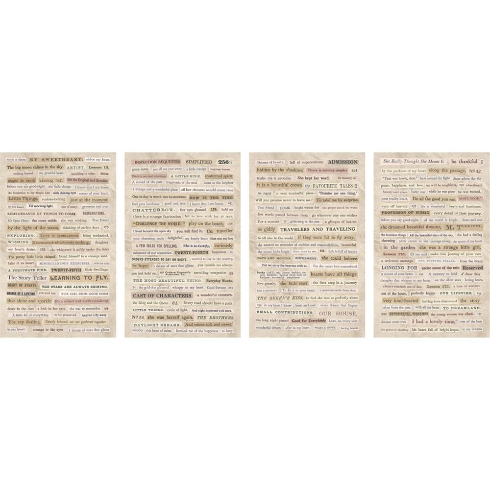 Tim Holtz Idea-ology clippings stickers