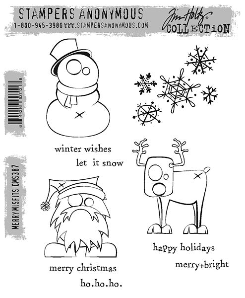 Tim Holtz Stampers Anonymous - Merry Misfits