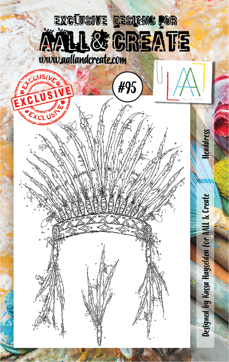 AALL&Create stamp set #95