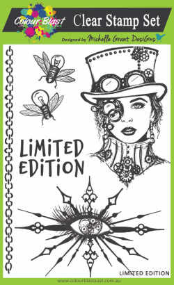 Colour Blast stamp set - Limited Edition (limited edition)