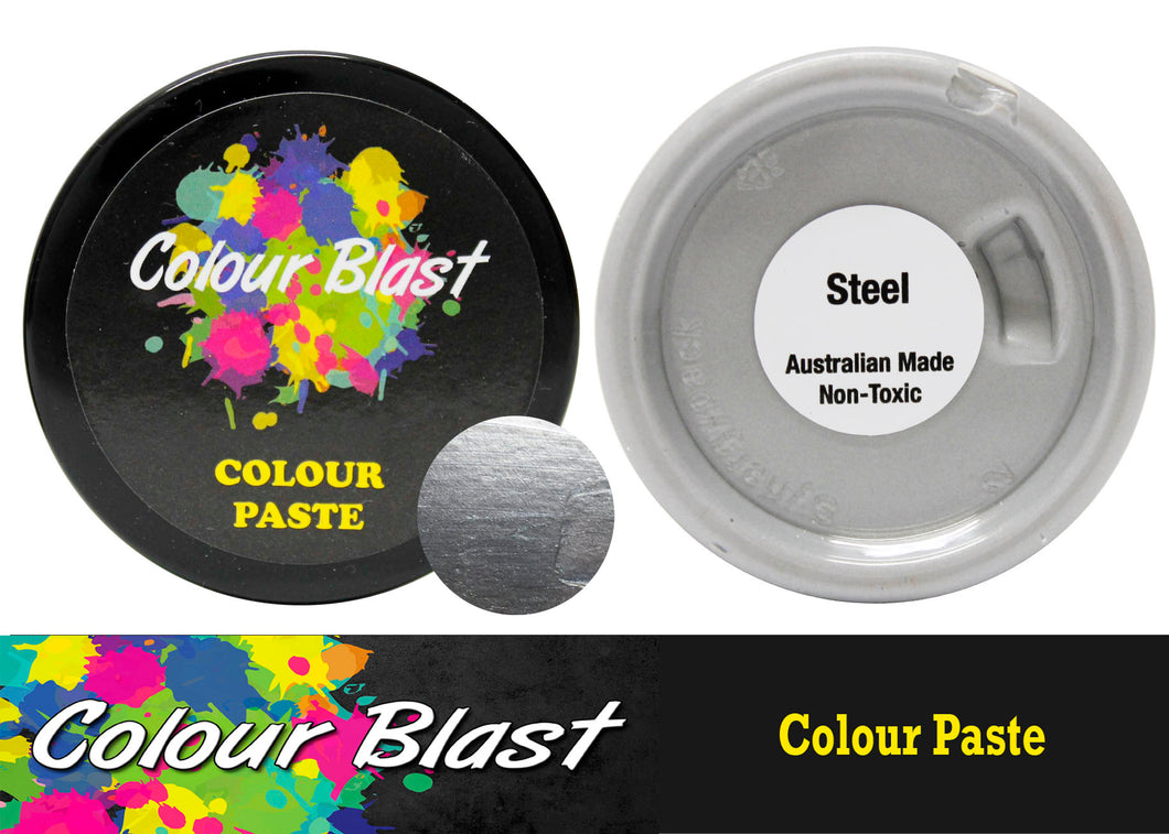 Colour Paste - Steel