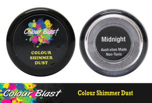 Colour Blast shimmer dust - Midnight