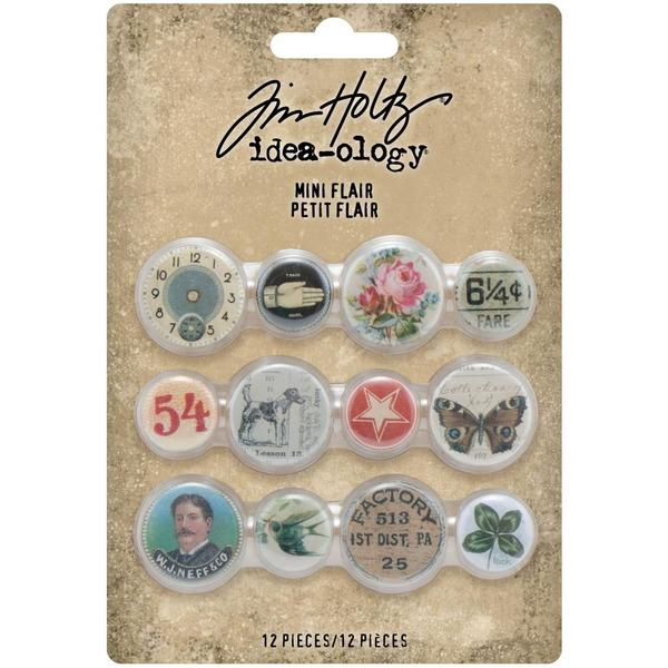 Tim Holtz idea-ology 2021 Mini flair - Vintage