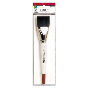 Dina Wakley media brushes - Wide bristle brush