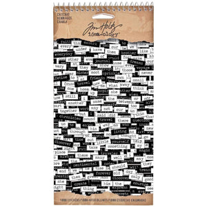 Tim Holtz Idea-ology Chit chat stickers