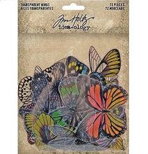 Tim Holtz Idea-ology Transparent wings