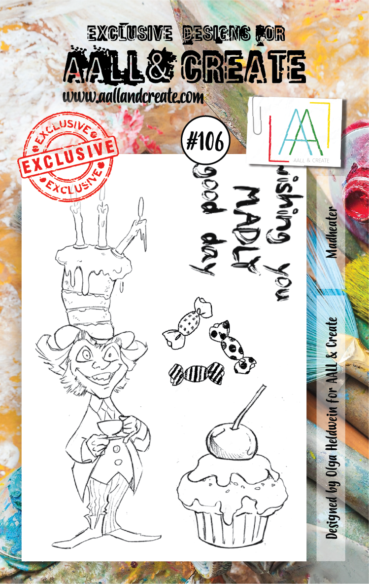 AALL&Create stamp set #106