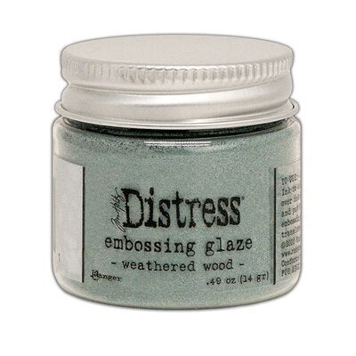 Tim Holtz Distress glaze - Weathered wood