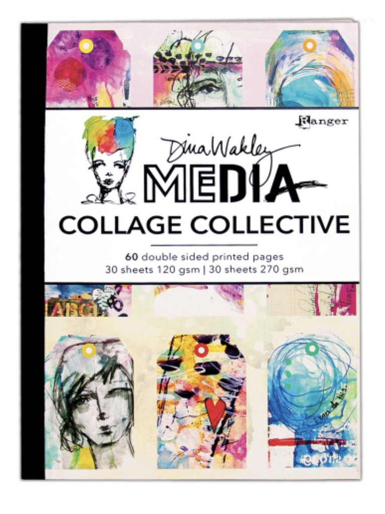 Dina Wakley Media Collage collective
