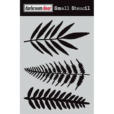 Darkroom Door stencil - Ferns Small (4.5