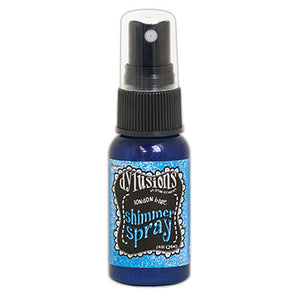 Dylusions Ink Shimmer spray - London blue