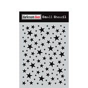 "Darkroom Door stencil - Starry night Small (4.5"" x 6"")"