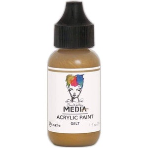 Dina Wakley Media 1oz paint - Gilt