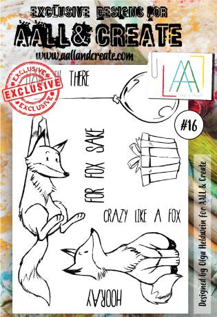 AALL&Create stamp set #16