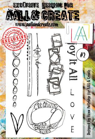 AALL&Create stamp set #2 - by Fiona Paltridge