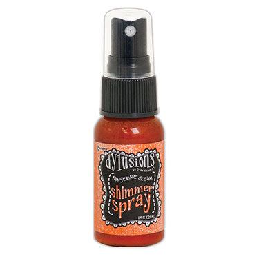 Dylusions Ink Shimmer spray - Tangerine dream