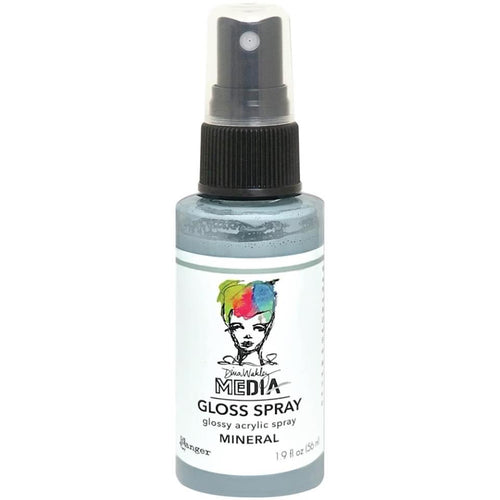 Dina Wakley Media gloss spray - Mineral