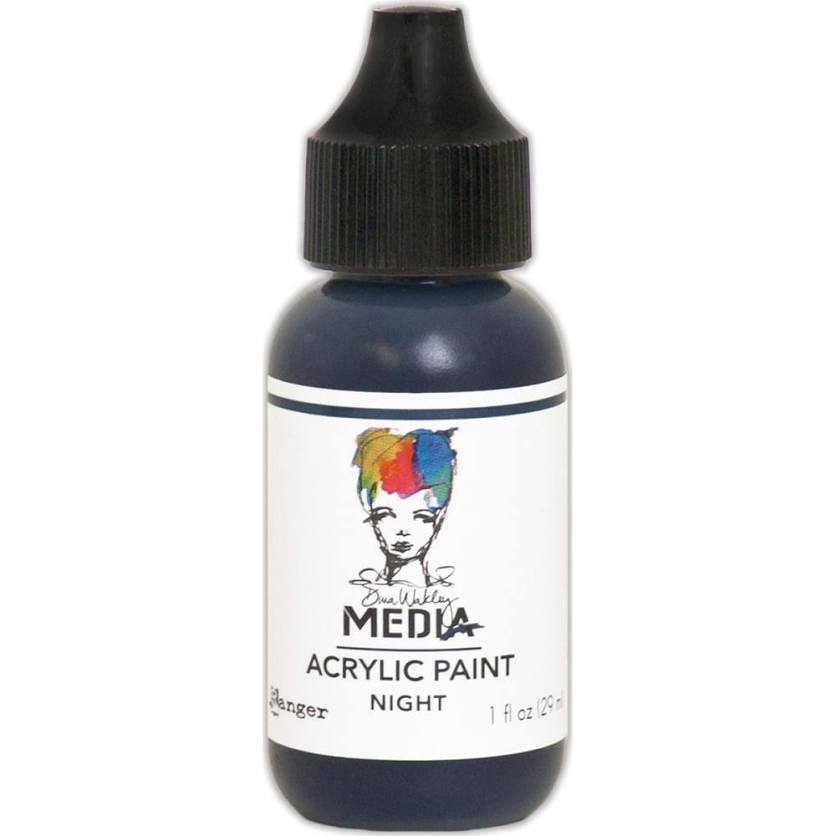 Dina Wakley Media 1oz paint - Night