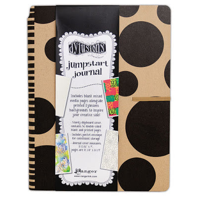 Dylusions Creative jumpstart journal - Large (A4)