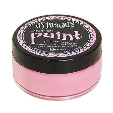 Dylusions paint - rose quartz