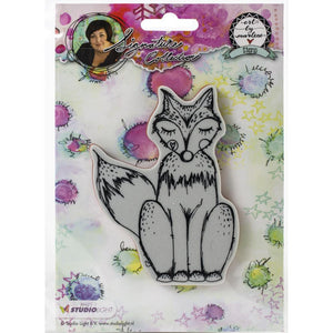 Art by Marlene signature collection stamp - Fox
