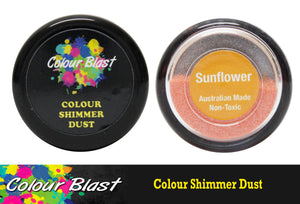 Colour Blast shimmer dust - Sunflower