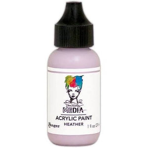 Dina Wakley Media 1oz paint - Heather