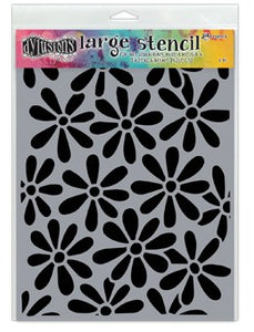 "Dyan Reaveley 9""x12"" stencil - Spring bloom"