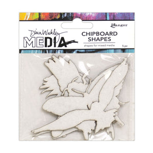 Dina Wakley media chipboard - Flying