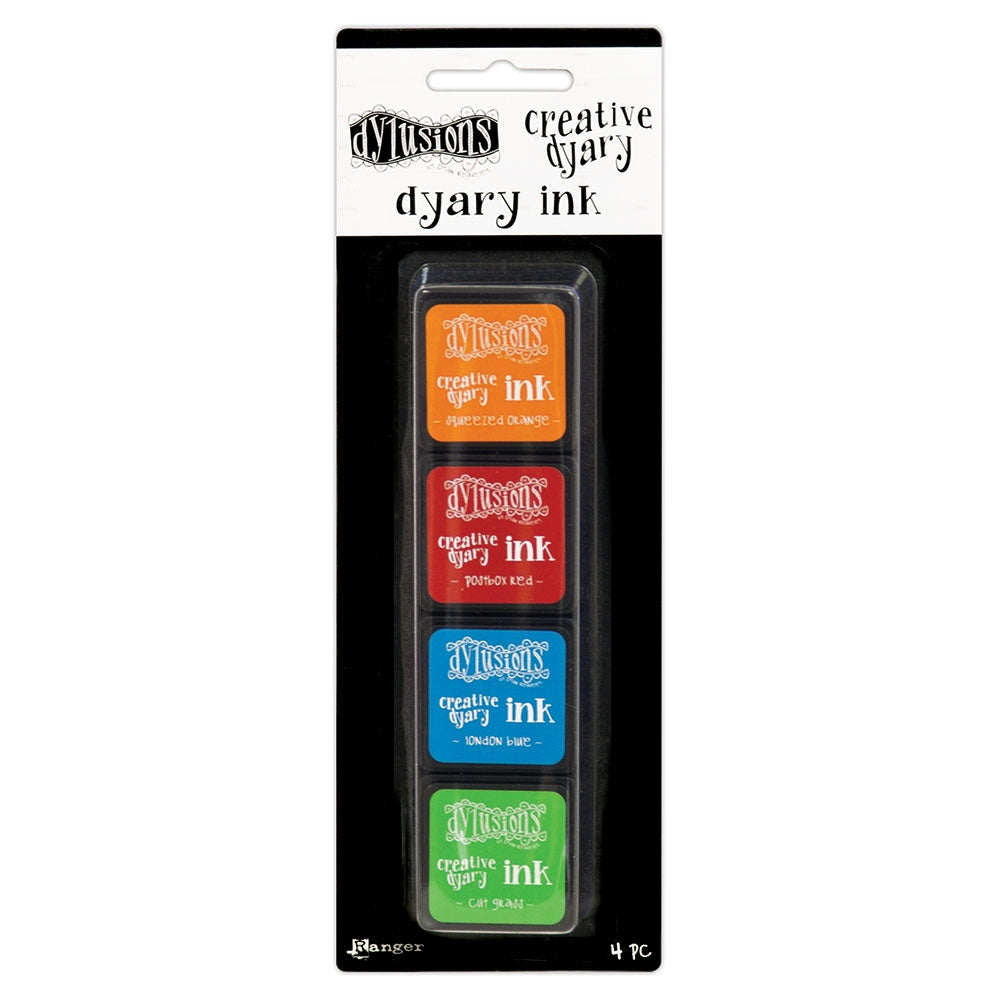 Dylusions Creative Dyary ink pad set 2