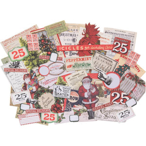 Tim Holtz Idea-ology Christmas Idea-Ology Ephemera Pack 58/Pkg