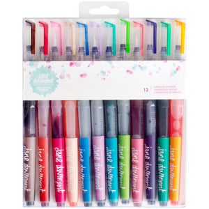 Jane Davenport Mixed Media Mermaid Watercolor Markers 12/Pkg