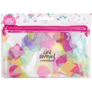 Jane Davenport Mixed Media Confettissue Die-Cuts 205/Pkg