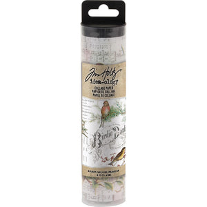 Tim Holtz Idea-Ology - Aviary Collage Paper 6yds