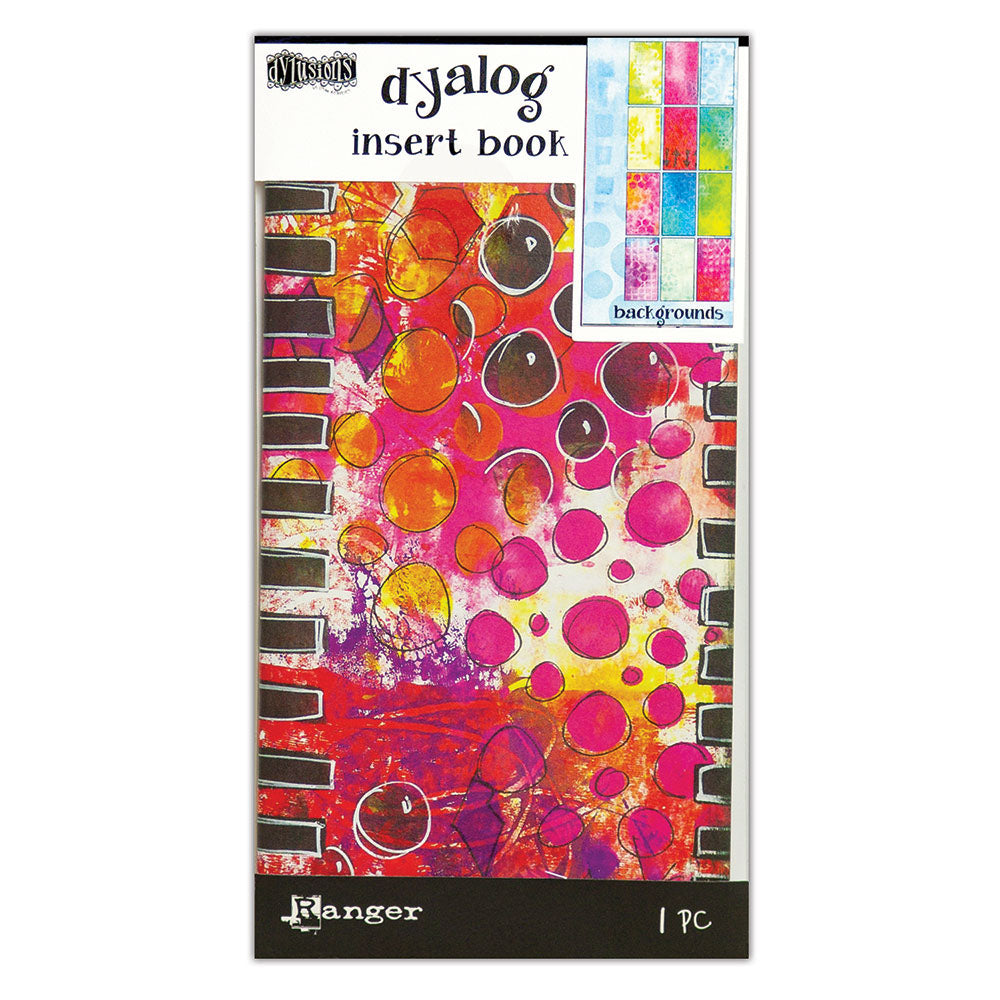 New Dyan Reaveley - Dylusions Dyalog insert books: Backgrounds #2