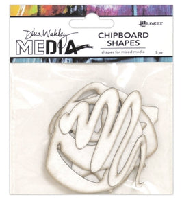 Dina Wakley media chipboard - Basics