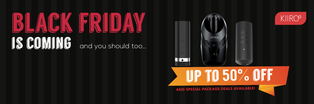 Kiiroo Black Friday Cyber Monday Sale Discount