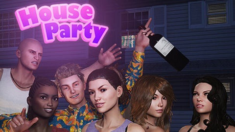 house party video game on steam
