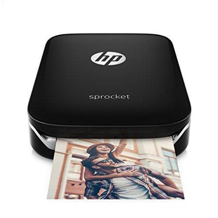 HP - Sprocket Photo Printer - Black