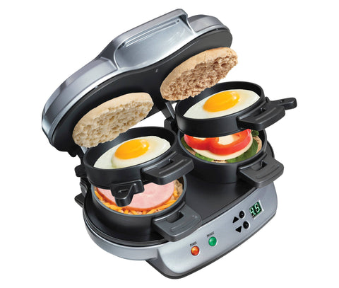 Hamilton Beach Breakfast 25490 Sandwich Maker - 1200W