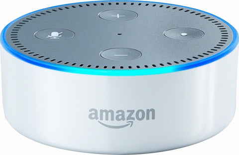 Amazon - Echo Dot (2nd generation) - Smart Speaker with Alexa - White