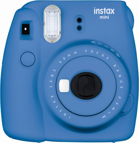 Fujifilm - instax mini 9 Instant Film Camera - Cobalt Blue