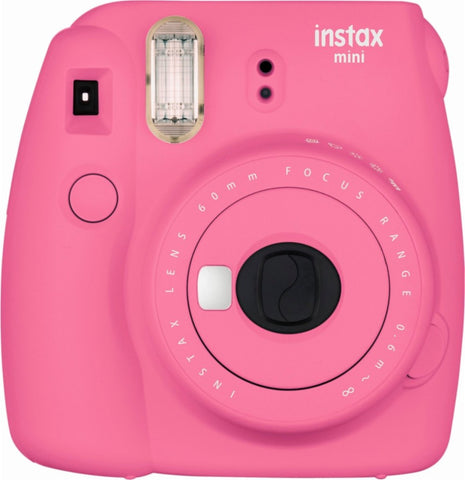 Fujifilm - instax mini 9 Instant Film Camera - Flamingo Pink