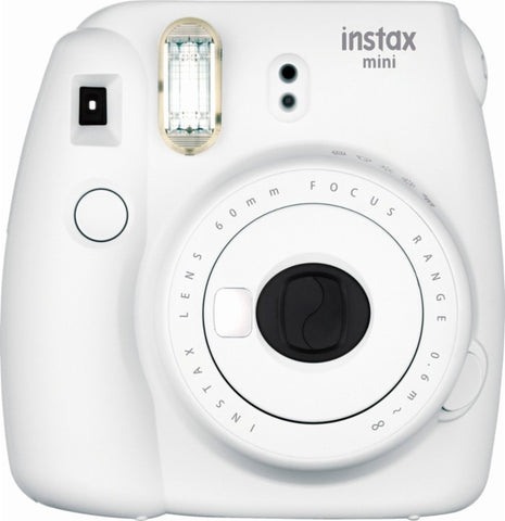 Fujifilm - instax mini 9 Instant Film Camera - Smokey White