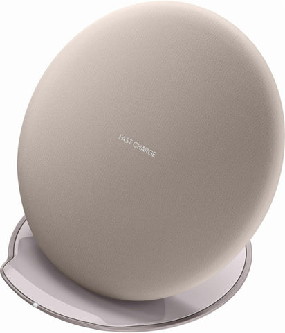Samsung - Fast Charge Wireless Charging Convertible Stand - Tan